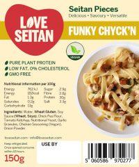Funky Chyck'n Diced Seitan Pieces