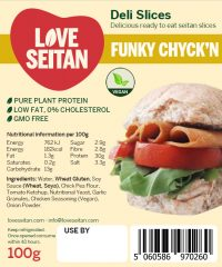 Funky Chyck'n Seitan Deli Slices