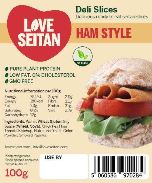 Ham Style Seitan Deli Slices