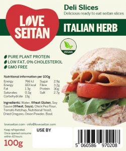 Italian Herb Seitan Deli Slices
