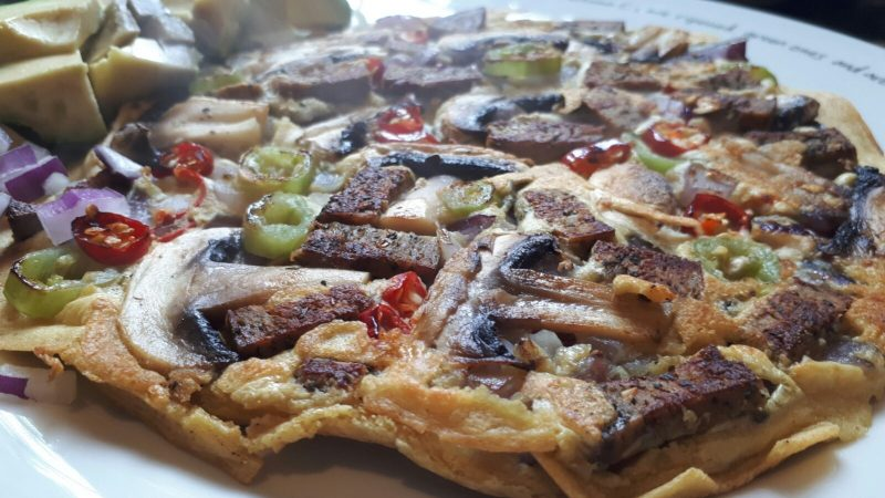 Seitan Omelette Recipe