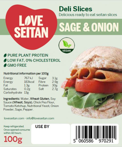 Sage & Onion Seitan Deli Slices
