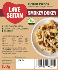 Smokey Flavoured Diced Seitan Pieces