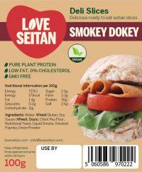 Smokey Dokey Seitan Deli Slices