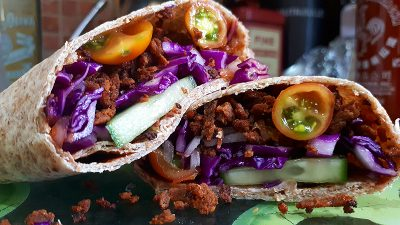 Seitan Burritos