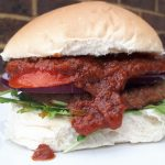Vegan Chilli Burger