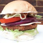 Vegan Chicken Burger