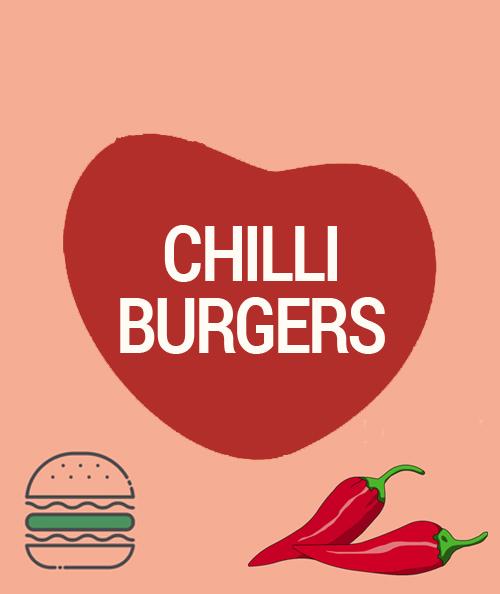 chilli burgers vegan