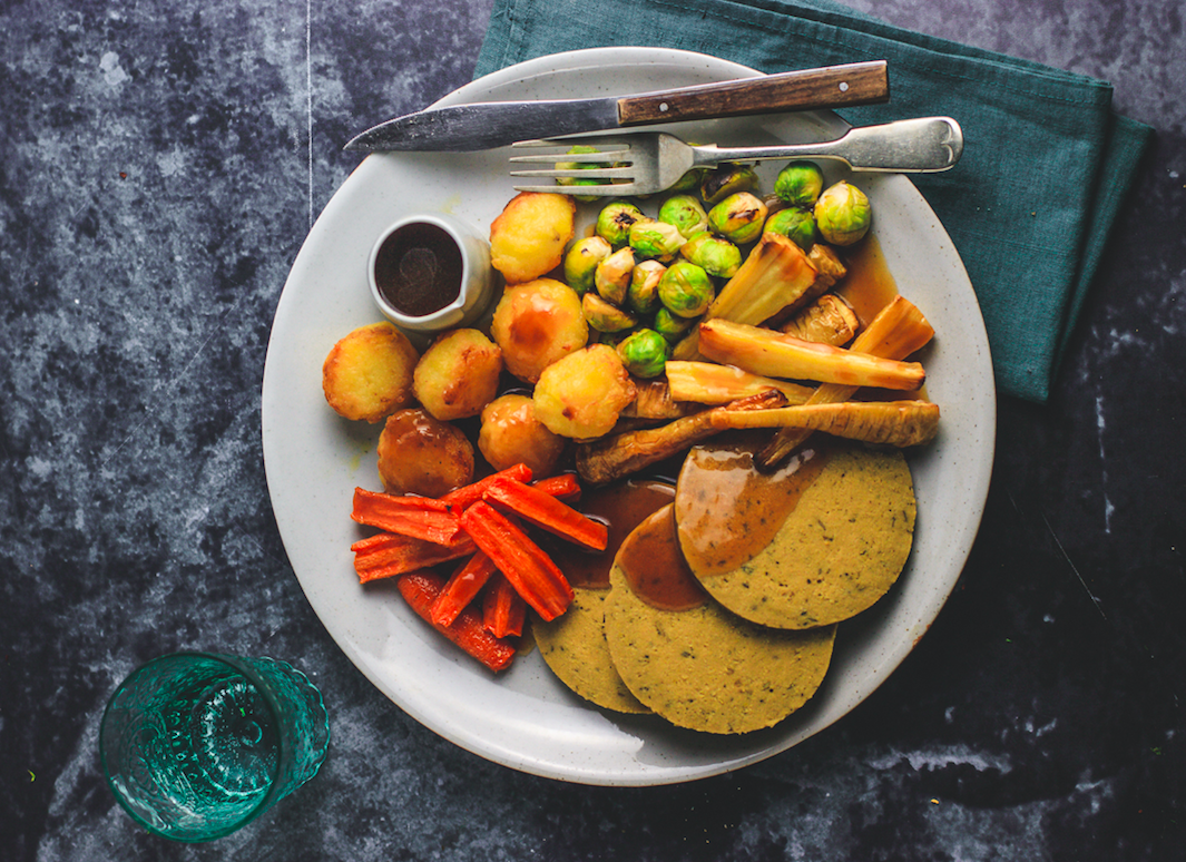 Feeling festive? Introducing the supremely succulent soy-free 'Seitan Roast'